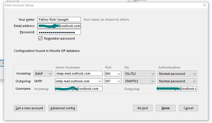 Konfigurasi Email di Mozilla Thunderbird