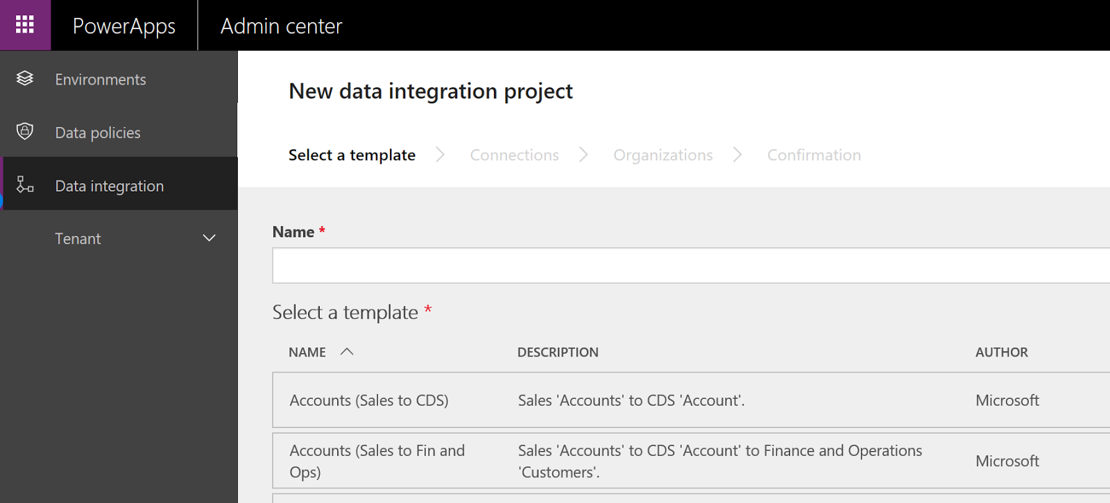 Common data service create a new power apps project finance and select a template the available templates for order to cash are provided by microsoft and they provide the integration to move data between d365 for maxwellsz