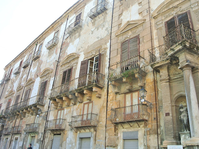 Palermo, centrum miasta, Sycylia, zwiedzanie