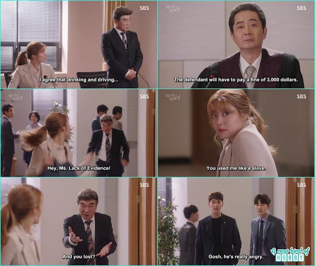 Bong hee lost Chairman Byun case - Suspicious Partner: Episode 17 & 18 korean Drama