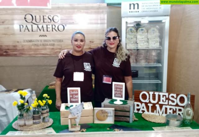 El Queso Palmero presente en la X Feria Regional de vino, queso y miel de Canarias