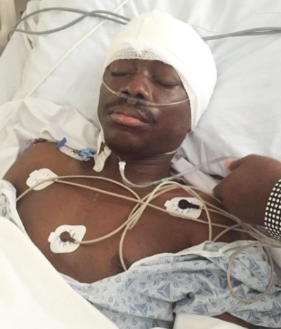 See More photos of Julius Agwu after his successful brain surgery in the US
