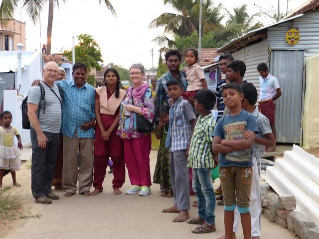 accueil villageois au tamil nadu