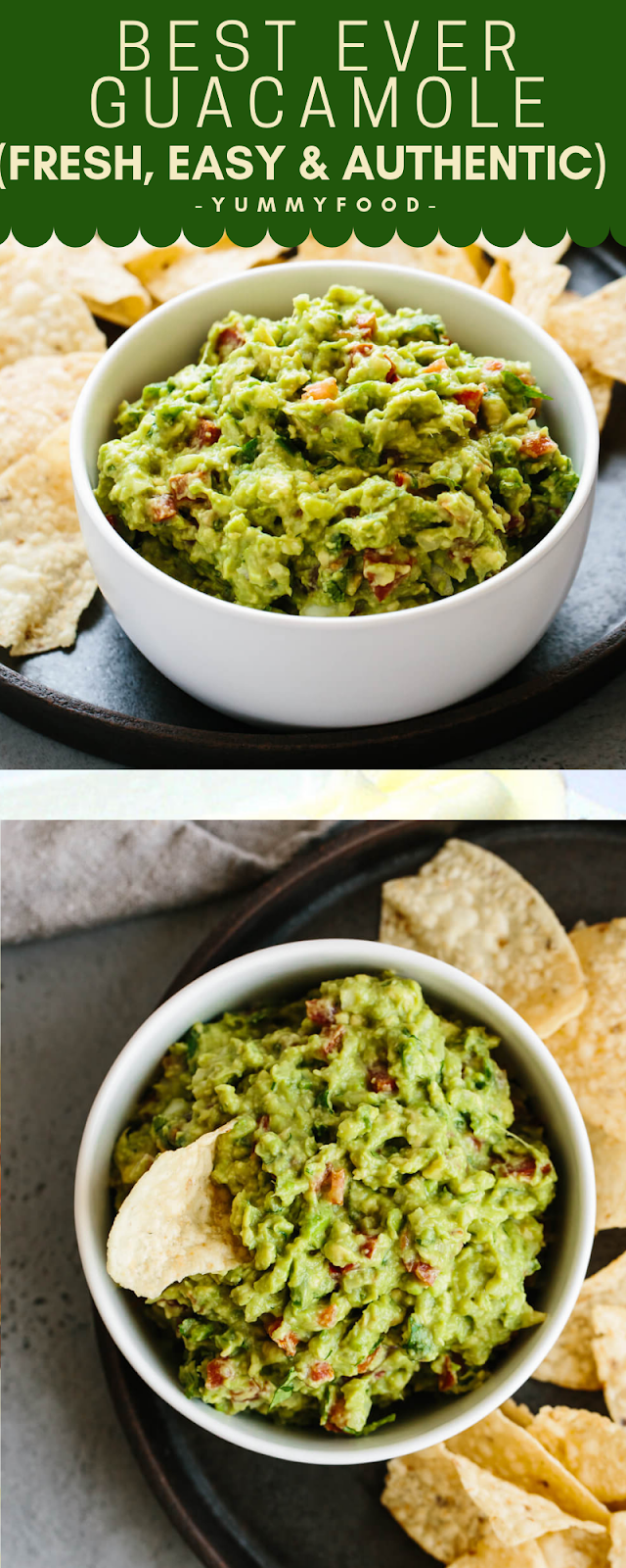 BEST EVER GUACAMOLE (FRESH, EASY & AUTHENTIC)