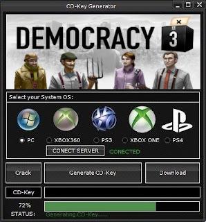Democracy 3 Key Generator (Free CD Key)