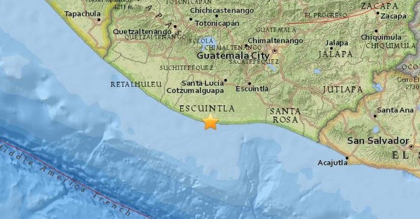 Terremoto En Guatemala De 5 3 Grados Hoy Miercoles 11 Enero 2017 Sismo Temblor Epicentro Suchitepequez El Salvador En Vivo Twitter Facebook Usgs Insivumeh Educacionenred Pe