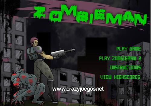 Jugar Zombieman
