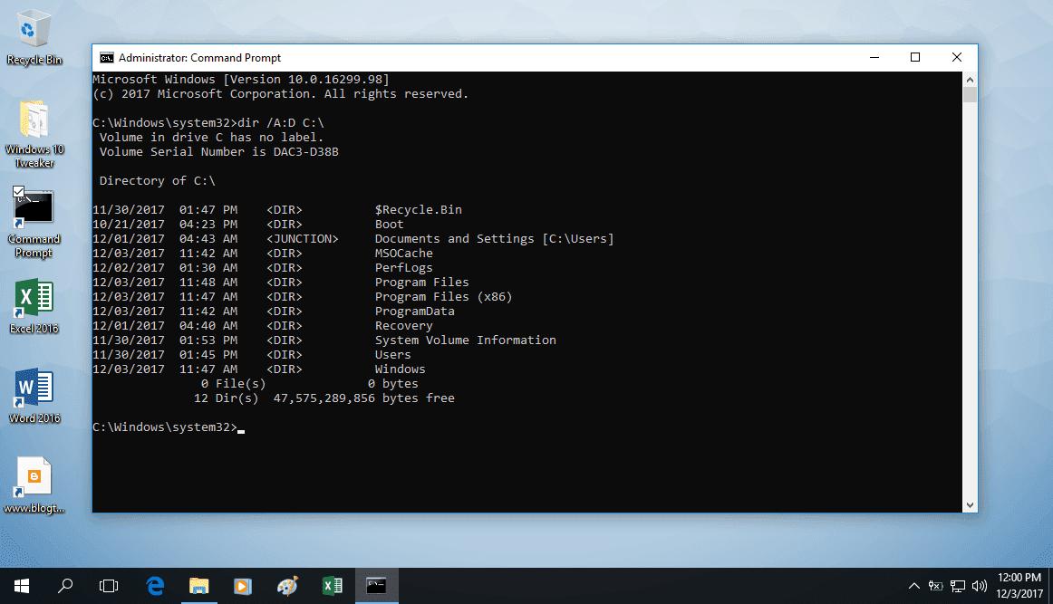 Hướng dẫn giữ lại drivers, phần mềm đã cài và tùy chỉnh đã thiết lập khi chọn Recovery lại Windows 10