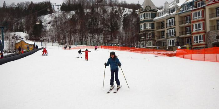 Esquiar en Canadá