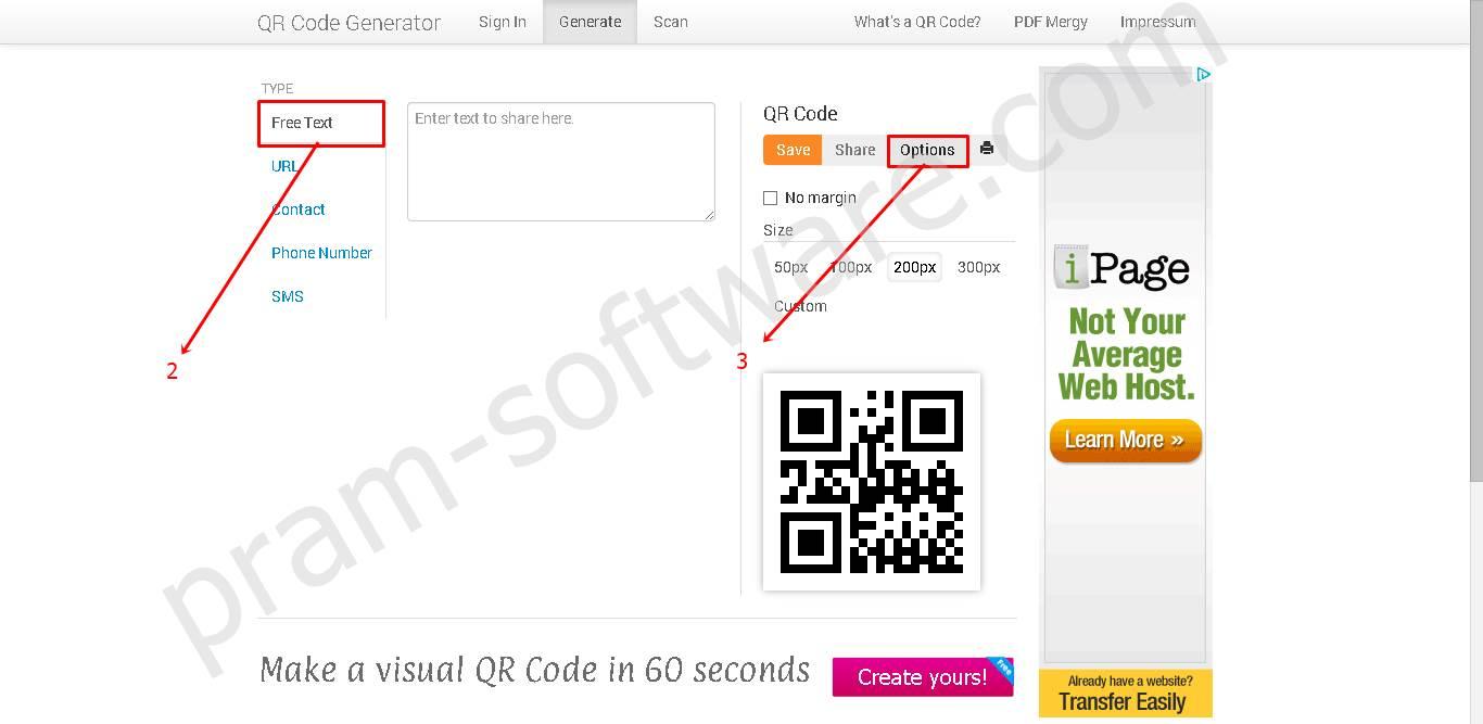 Option QR Code