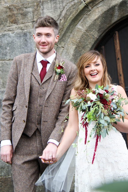 Autumn Berries for Sarah & Paddy at St Helens Church Waddington & Browsholme Hall