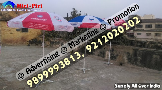 Promotional Umbrella in Delhi, Parchar Chhata Suppliers, Promotional Umbrella , Business Promotional Umbrella, Garden Umbrellas,
