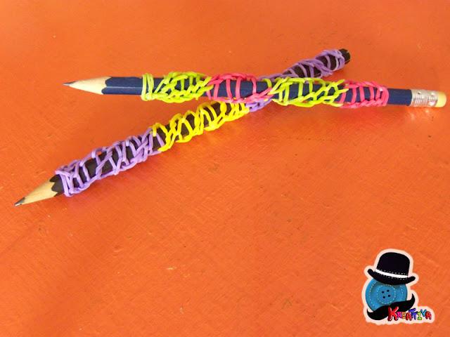 rainbow loom matite personalizzate