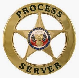process service california