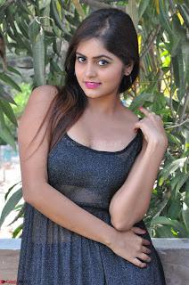 Pragya Nayan New Fresh Telugu Actress Stunning Transparent Black Deep neck Dress ~  Exclusive Galleries 033.jpg