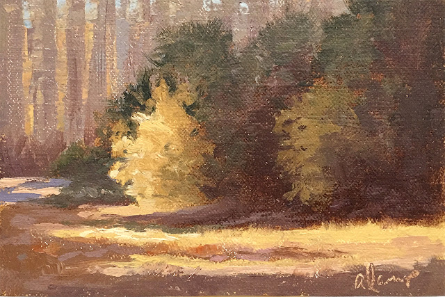4x6 landscape painting  Apr 12 2019