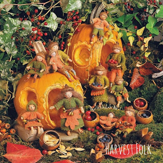 Harvest Folk from Felt Wee Folk