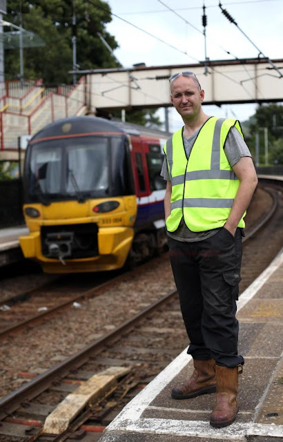 Shipley rail hero saves life of passenger badly hurt after falling onto line