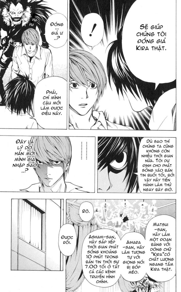 Death Note chapter 026 trang 17