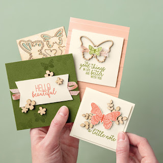 Stampin' Up! Sale-a-Bration Butterfly Elements + Butterfly Gala