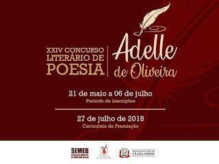 Resultado de imagem para PRÊMIO ADELE DE OLIVEIRA CEARÁ-MIRIM