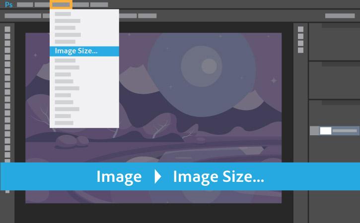 Image > Image Size