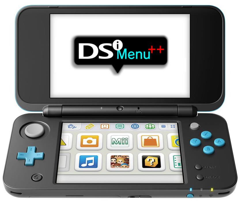 HOMEBREW 3DS] DSi Menu ++ v4 4 0 Rev 01 - Rode Nintendo DS