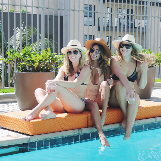 staycation ideas, girls' pool day ideas, girls' night ideas, casual girls night in fun