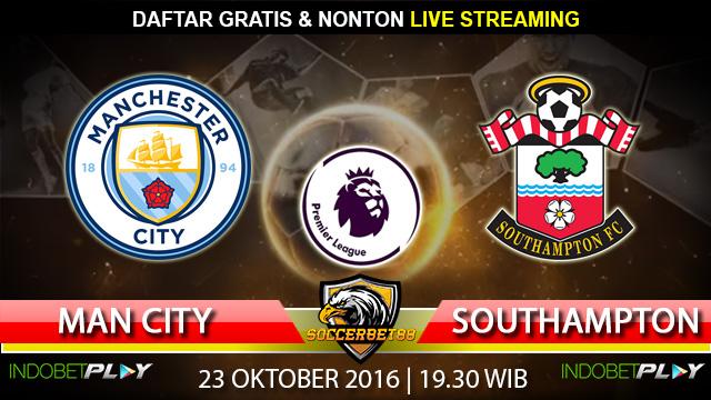 Prediksi Manchester City vs Southampton 23 Oktober 2016 (Liga Inggris)