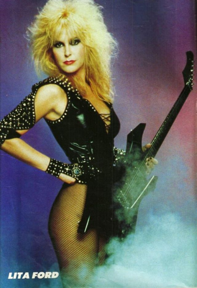 The Queen Of Heavy Metal 30 Portrait Photos Of A Young