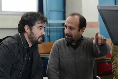 ASGHAR FARHADI durante el rodaje de el viajante