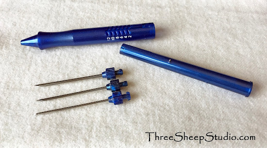 Ultra Punch punchneedle - needle sizes