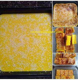 Bingka Durian Sukatan Cawan