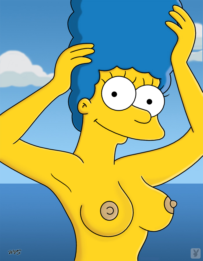 All Nude boobs in simpsons think