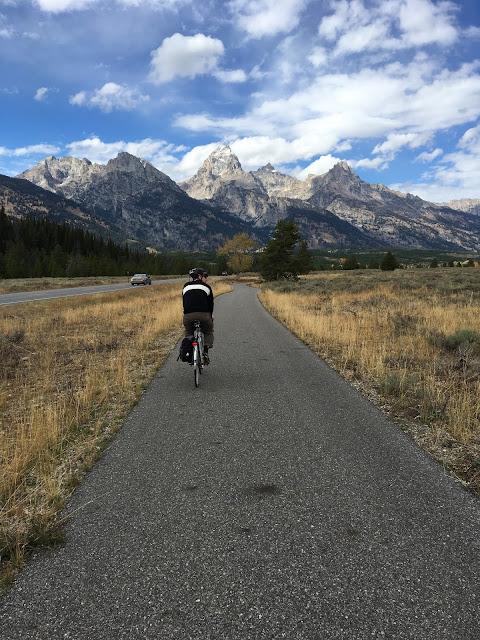 Grand Teton National park bike path