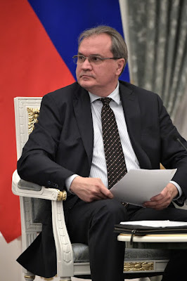 Secretary of the Civic Chamber of the 6th convocation Valery Fadeyev.