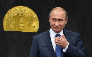موقف الرئيس الروسي  فلاديمير بوتين  من العملات الافتراضية