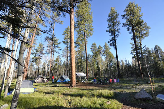 Memorable Memorial Day Weekend Camping - Rainbow Campground in Big Lake, Arizona