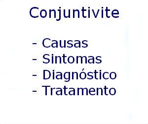 Conjuntivite causas sintomas diagnóstico tratamento prevenção riscos complicações