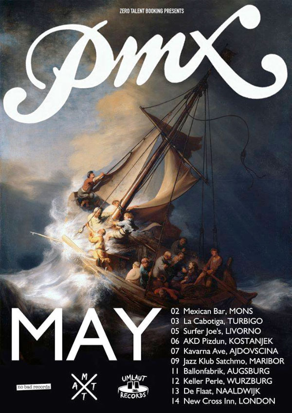 PMX announce European tour