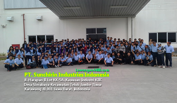 Lowongan Kerja PT. Sunchirin Industries Indonesia Karawang