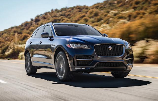 На тесте Jaguar F-Pace