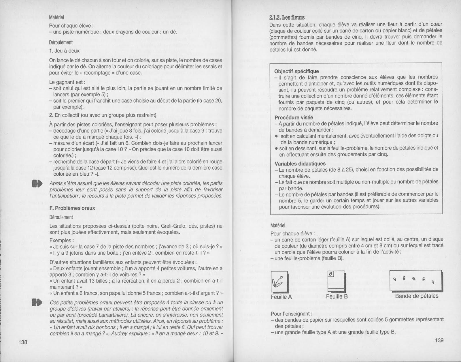 Manuels Anciens Ermel Apprentissages Numeriques Cp 1991