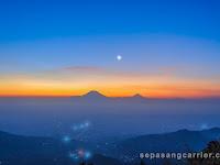Menikmati Senja di Gunung Telomoyo Via Pandean Magelang