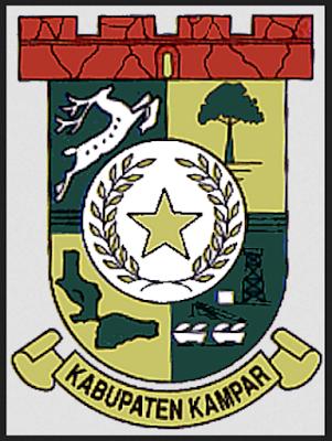 Profil Kabupaten Kampar Riau Lambang Kampar