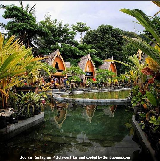 Pemandangan Desa Relgi Bubohu ( Pesatren Alam Gorontalo )