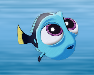 HOW TO DRAW A BabyDory