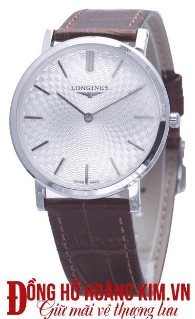 đồng hồ nam dây da mặt tròn 2017