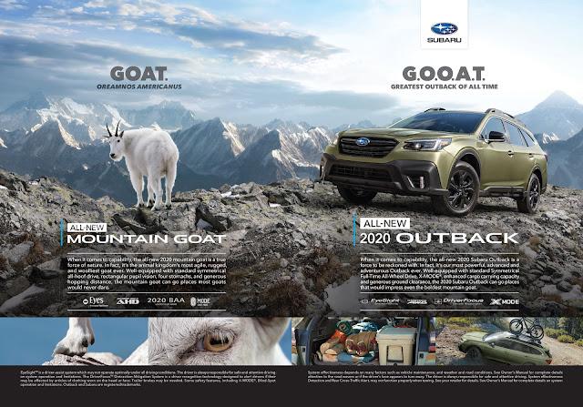Subaru Introduces the G.O.O.A.T to Canada