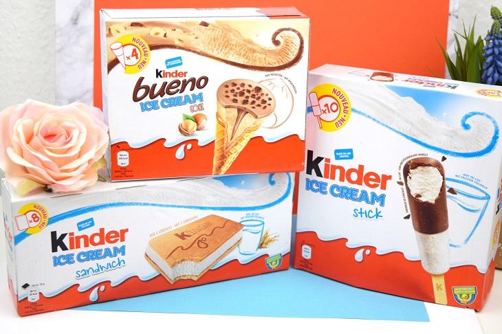 Schminkeckchen Ferrero Kinder Eis 3 Sorten Im Test